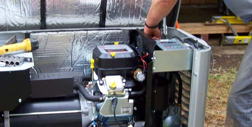 How much does a generator system cost to purchase and install?